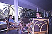 ... after the hard work in Havanna during my task: 'transformation processes in EASTERN EUROPE ... effect on LATIN - AMERICA ... especially on CUBA' ... some days of relaxation at the beach of VARADERO in CUBA; here: making small talk with some employees_1991_Jochen A. Hübener