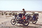summer 1985_hot ALGERIA_Jochen_close to the border to MOROCCO_first soft sand driving experience ...