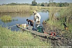 1992_BOTSWANA_OKAVANGO-Delta_my very good old friend Andrè_what an adventure