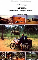 cover of my VHS-VIDEO 'AFRICA by motorcycle, Unimog and backpack'