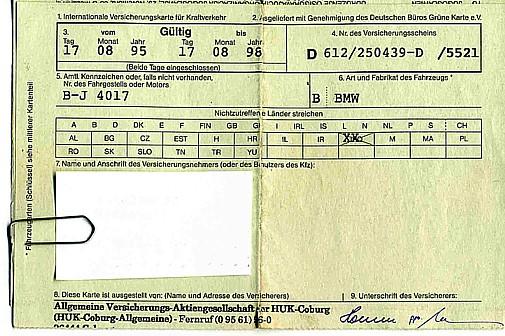 huk coburg grüne karte Planung abenteuerlicher Weltreisen_Jochen A. Hübener_planning