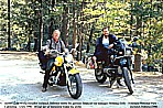 1996_U S A_CALIFORNIA_Yosemite National Park_Jochen meets the german top manager Henning, a nice guy ... with his luxury equipment_good talking together_my motorcycle-trip around the world 1995-96_Jochen A. Hübener